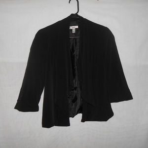 dressbarn Womens Size Large Jacket Shrug Blazer